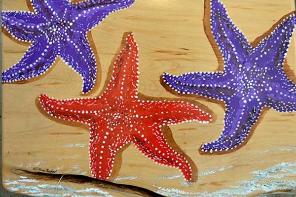 starfish gibsons art gallery gift shop