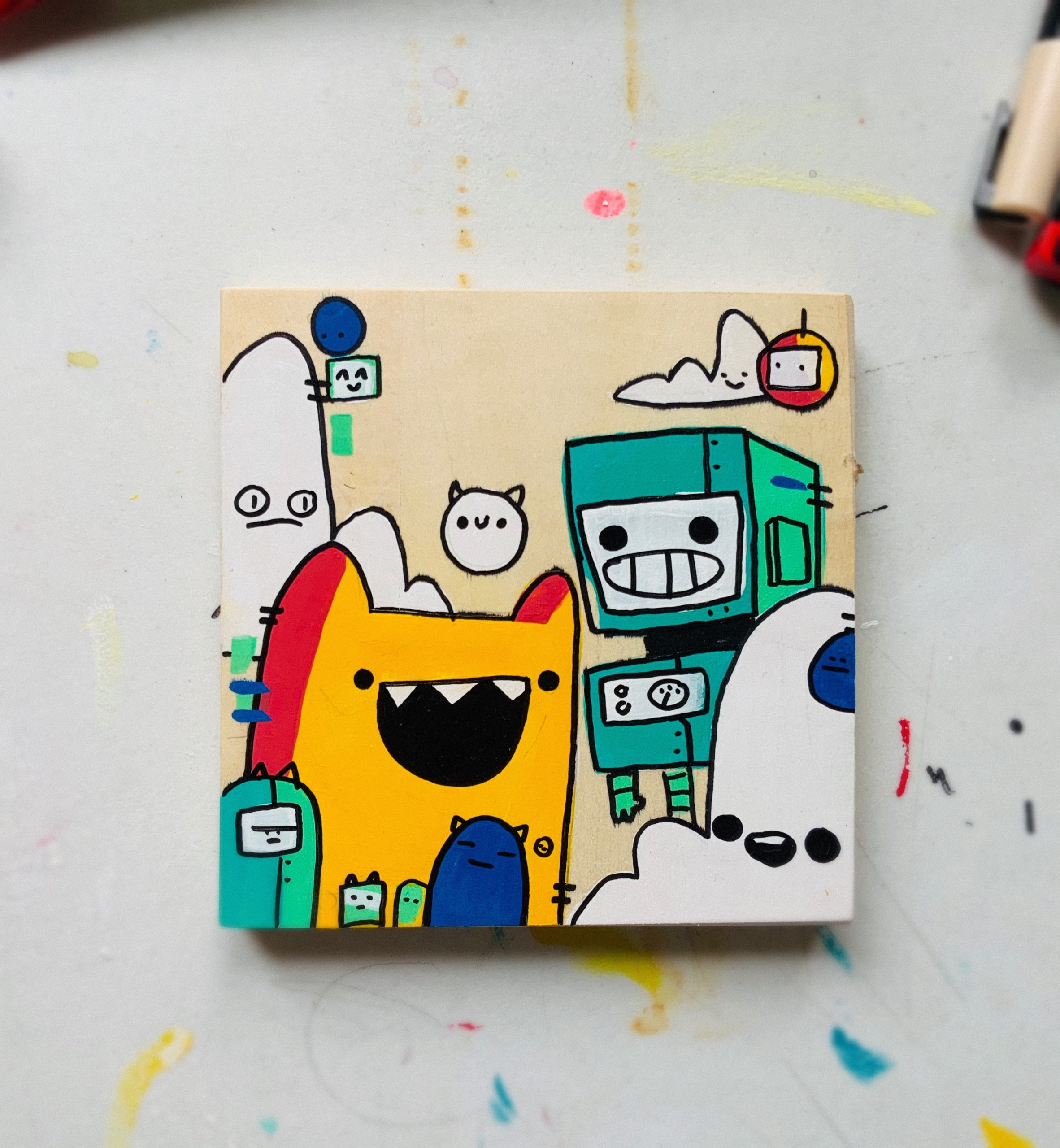Insert Title (ink paint) Zachary Harding — OPENS
